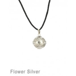 Bola de grossesse Flower Silver par Nativee