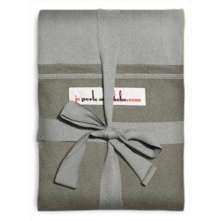 The original JPMBB Baby Wrap Grey, pocket Olive - Naturiou 7dbba515e3f