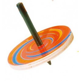 Spinning top removable wooden Goki