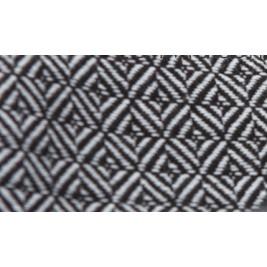 Ringsling LEO NOIR / BLANC écharpe de portage Storchenwiege