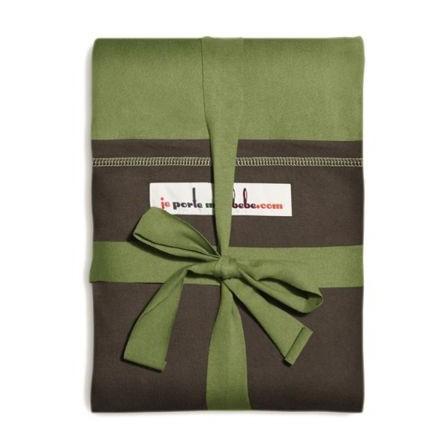 The original JPMBB Baby Wrap Pistachio, pocket Black Koffee - Naturiou bc84715475f