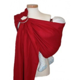 Ring Sling LEO ROUGE par Storchenwiege