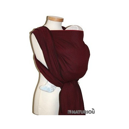 58955b358f6 Leo Bordeaux Storchenwiege woven wrap