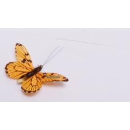 Butterfly solar Héliobil yellow