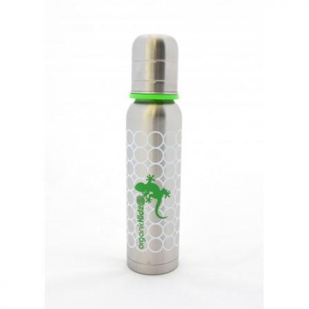 biberon organickidz thermos gecko 270 ml goulot troit. Black Bedroom Furniture Sets. Home Design Ideas