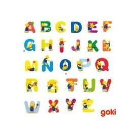 lettres alphabet pour prenom en bois goki naturiou. Black Bedroom Furniture Sets. Home Design Ideas