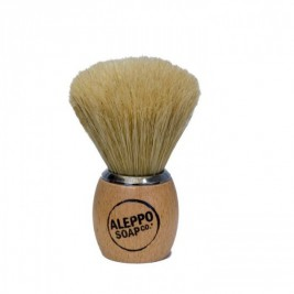 Badger shaving natural wood tadé