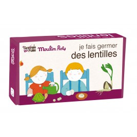 Kit de germination Lentilles Moulin Roty