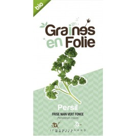 Persil Frise Vert Fonce bio Graines en Folie