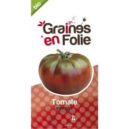 Tomate Noire Russe charbonneuse Bio graines en folie
