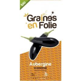 Aubergine de Barbentane Organic seeds of madness