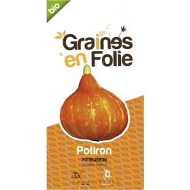 Potiron potimarron Bio graines en folie