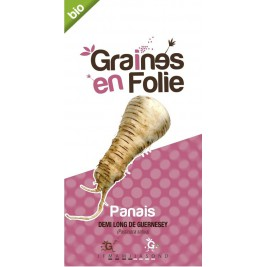 Panais demi long de Guernesey graines en folie