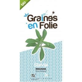 Stevia graines en folie