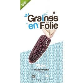 Maïs Fraise Pop Corn bio Graines en Folies