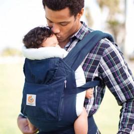 Porte bébé Ergobaby Organic Bleu marine
