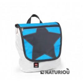 Cartable étoile bleue sac en toile de voile 360°