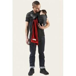 La Petite Echarpe Sans Noeud JPMBB rouge scarlett , noir