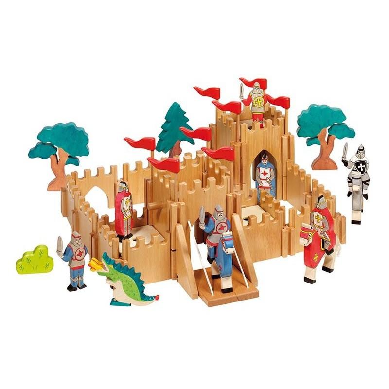 Ch teau fort en bois holztiger naturiou - Chateau fort en bois ...