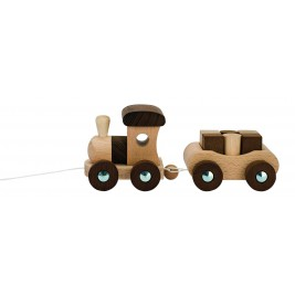 Train Vancouver wooden Goki Nature