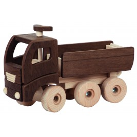 Large dump truck wooden Goki Nature