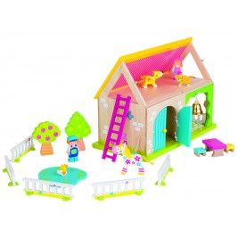 My farm colorful wooden Susibelle
