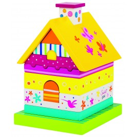 Wooden house stacking Susibelle