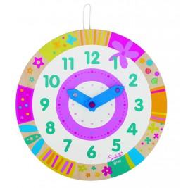 Horloge apprendre à lire l'heure Susibelle