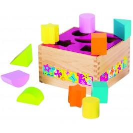 Boîte à formes en bois Susibelle