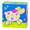 Puzzle cubes, the friends of Susibelle sheep Suse