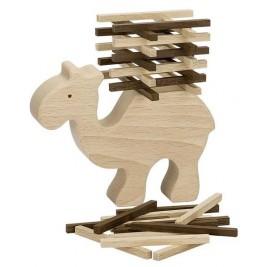 Camel balancing act of Goki Nature wood