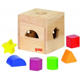 Small box shapes in wood Goki