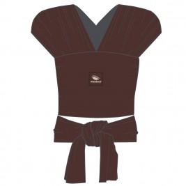Echarpe de portage sling chocolat manduca