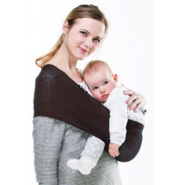 Baby carrier Sling Wacotto Chocolate