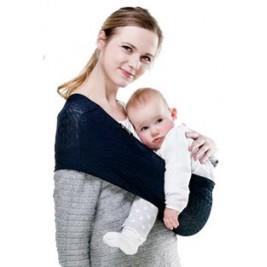 Porte-bébé Sling Wacotto bleu marine