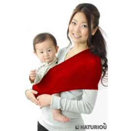 Porte-bébé Sling Wacotto rouge