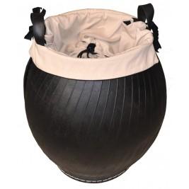 Jarre ø50 en pneu recyclé Tadé