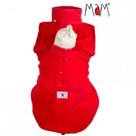Insert grand froid rouge pour couverture ou veste de portage