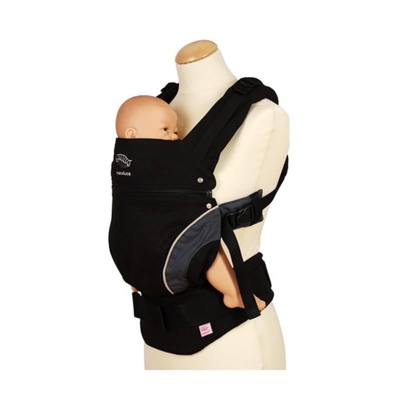 ... Porte-bébé Manduca noir newstyle position ergonomique 22e30c9c2ec