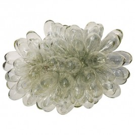 Grande lampe grappe de verre soufflé
