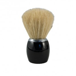 Badger shaving wood black Lacquered tadé