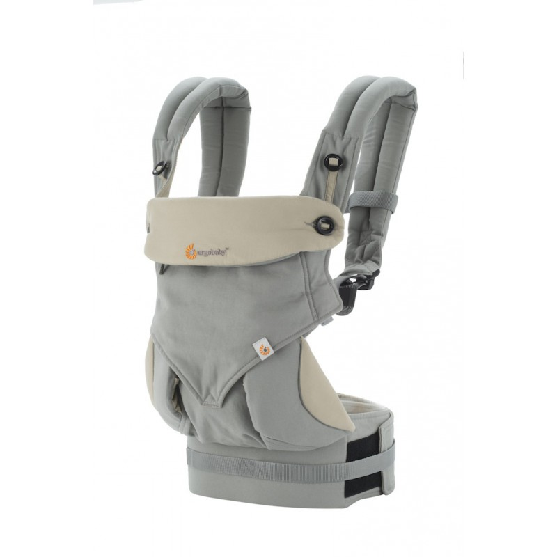 d14f5f5dc4b Ergobaby 360 Baby Carrier All Positions Grey - Naturiou
