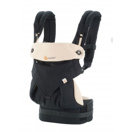 Ergobaby 360 Baby Carrier - Bundle of Joy Black - Camel