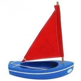 Thonier Tirot bleu voile rouge 20 cm modèle 201