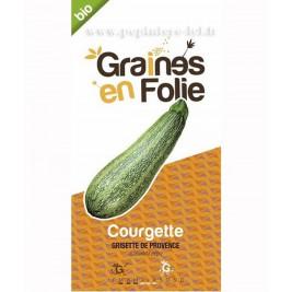 Courgette Bio Grisette de provence graines en folie