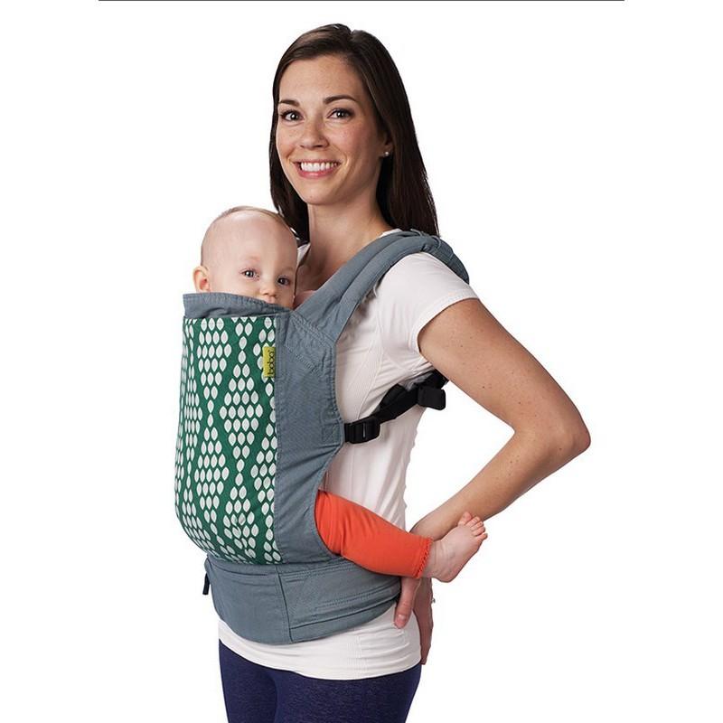 6d25bdee833b ... Porte-bébé ergonomique BOBA 4G Coton Bio Verde ...