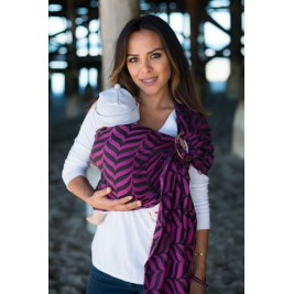 RingSling TULA Migaloo Raspberry S/M