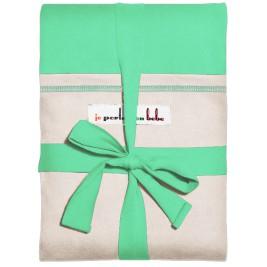Echarpe Jpmbb Vert Azur poche Ecru