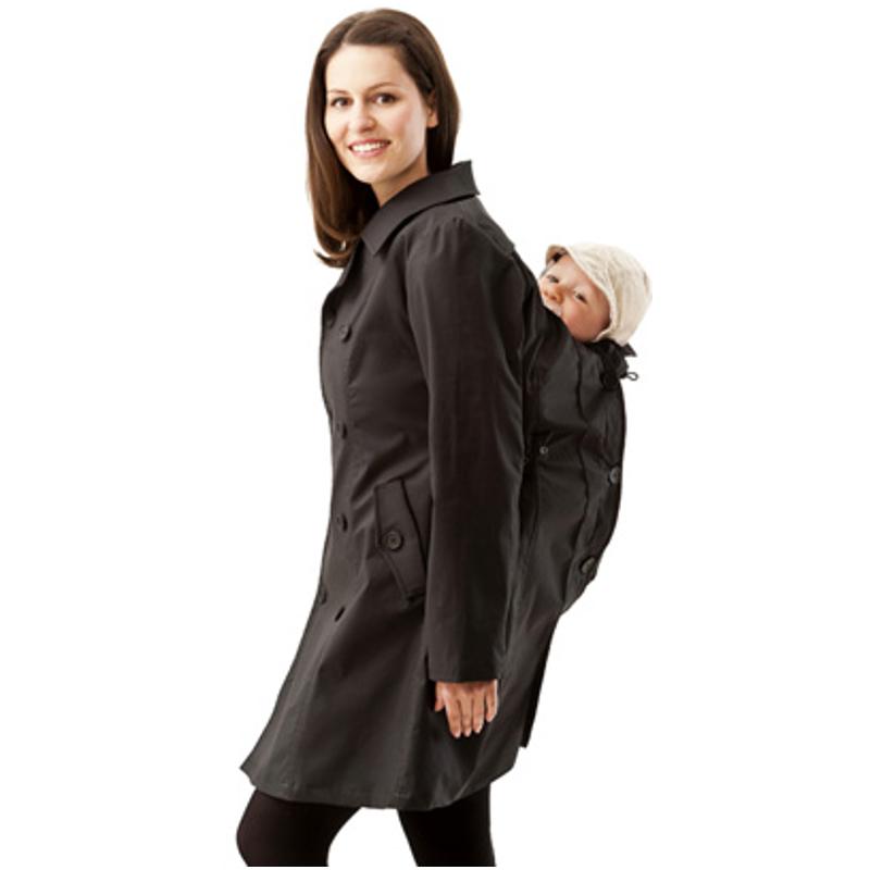 Trench Coat de portage et grossesse Mamalila