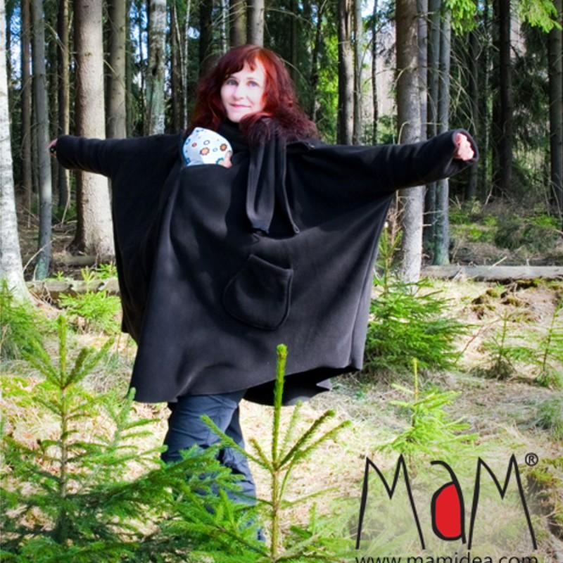 e0ca6f44bf3 ... Poncho de portage Aiska Mam – Black S M ...